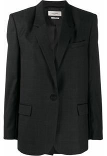 Isabel Marant Étoile Single Breasted Blazer - Cinza