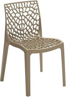 Cadeira Gruvyer Em Polipropileno Highgloop Mobitaly - Fendi