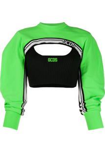 Gcds Layered Logo Top - Verde