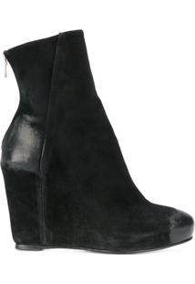 The Last Conspiracy Ankle Boot Plataforma - Preto