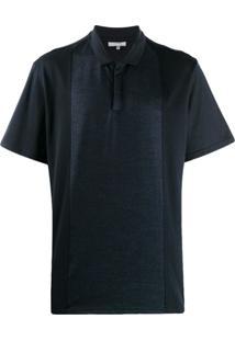 Lanvin Camiseta Com Estilo Polo - Azul
