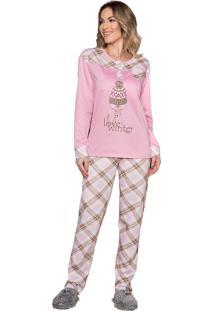 Pijama Vincullus Inverno Xadrez - Tricae