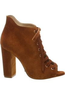 Ankle Boot Open Toe Wood | Schutz