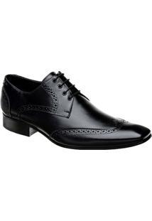 Sapato Oxford Masculino Em Couro Bigioni - Masculino