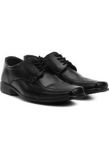 Sapato Social Walkabout Clássico W2 Masculino - Masculino-Preto