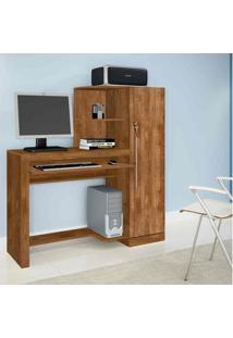 Escrivaninha Mesa Para Computador Aroeira Candian Nobre - Jcm Movelaria