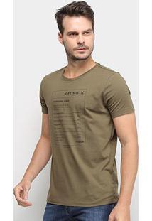 Camiseta Forum Optimistic Masculina - Masculino-Verde