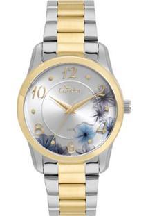 f568600b065 ... Relógio Condor Feminino Fashion Top Fashion Bicolor - Co2039Av 5K  Co2039Av 5K - Feminino