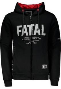 Jaqueta Fatal Especial Masculina - Masculino-Preto