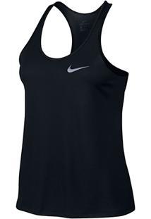 Regata Nike Breathe Rapid Dri-Fit Feminina - Feminino-Preto