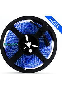 Fita Led 5050 Azul 300 Leds 12V Prova D'Água 5 Metros