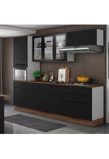 Cozinha Compacta 8 Pt 5 Gv Preta
