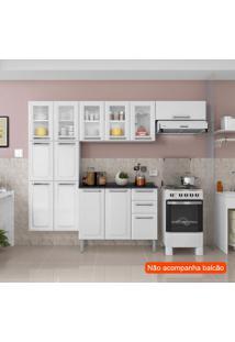 Cozinha Compacta Luce 10 Pt Branca