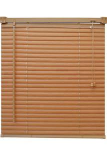 Persiana Wood Pvc 25Mm 100X220 - Evolux - Mel