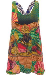 Blusa Feminina Hoi Am Original -A Zul