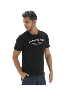 Camiseta Timberland Kennebec Rvr Elevated - Masculina - Preto