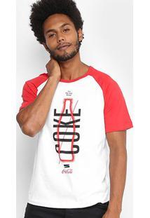 Camiseta Coca-Cola Thing Masculina - Masculino-Branco