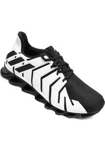 Tênis Adidas Springblade Pro Masculino - Masculino-Branco+Preto