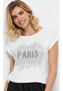 Camiseta Facinelli Paris Feminina - Feminino
