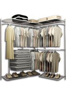 Closet Aramado Em L Cll08 - 1,60M X 1,50M