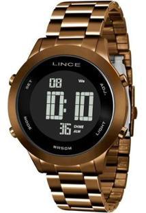 Relógio Lince Sdph084L Pxnx Feminino - Feminino-Marrom