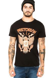 Camiseta Pretorian Eagle Preta