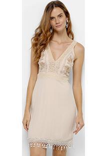 Vestido Colcci Recorte feminino  09d47639eff05