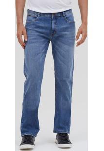Calça Slim Masculina Em Jeans