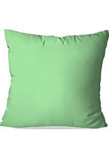 Capa De Almofada Avulsa Verde Claro 45X45Cm