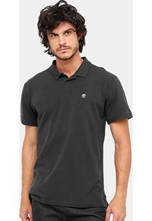 Camisa Polo Timberland Ss Millers River Masculina - Masculino