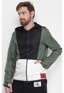 Jaqueta Calvin Klein Recorte Masculina - Masculino