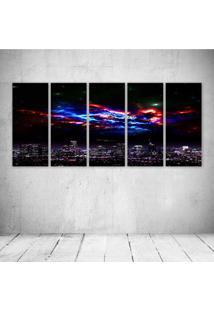 Quadro Decorativo - Science Fiction - Composto De 5 Quadros