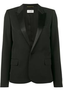 Saint Laurent Blazer Smoking - Preto