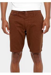 Bermuda Colcci Sarja Color Bolso Faca Masculina - Masculino