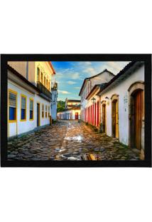 Capacho - Tapete Colours Creative Photo Decor - Rua Em Paraty, Rj Bege
