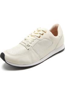 88bc9fd8a4 ... Tênis Couro Carmim Jogging Off White