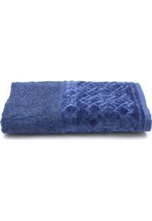 Toalha De Banho Santista Platinum Alef Fio Penteado 70Cmx1,40M Azul - Azul - Dafiti