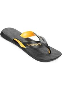 Sandália Havaianas Dynamic Masculina - Masculino-Amarelo+Branco