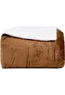 Cobertor Queen Marrom