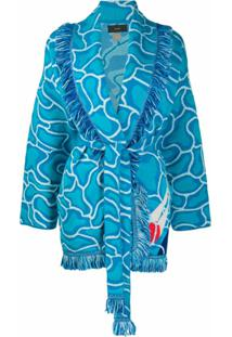 Alanui Cardigan Into The Blue - Azul