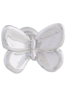 E.M. Butterfly Earring - Metálico