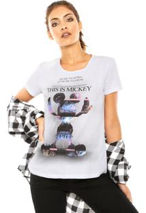 Blusa Cativa This Is Mickey Branca