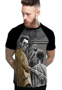 Camiseta Stompy Raglan Modelo 120 Masculina - Masculino