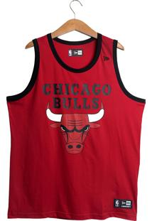 Regata New Era Chicago Bulls Masculino