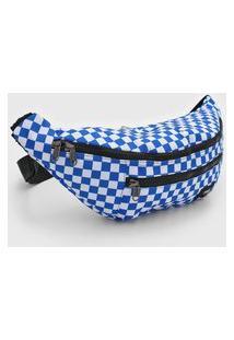 Pochete Vans Ward Cross Body Pack Branca/Azul