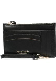Kate Spade Porta-Moedas Quadrado - Preto