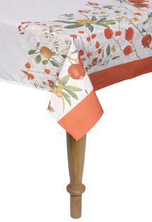 Toalha De Mesa Quadrada Karsten Dia A Dia Floralice 140X140Cm