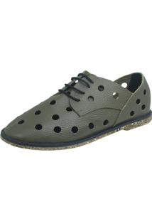 Sapato S2 Shoes Telma Verde Militar