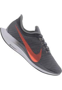 Tênis Nike Zoom Pegasus 35 Turbo Feminino Cinza Escuro