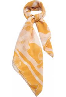 Lenço Smm Acessórios Florada Amarelo